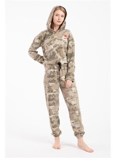 Pemilo Pijama Takım Haki